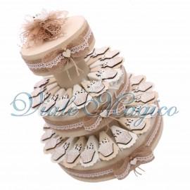 Torta Shabby Magnete Cupcake 18 Anni