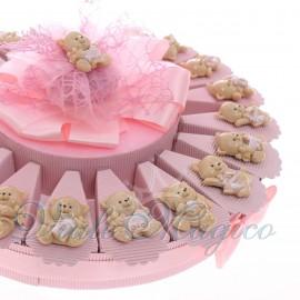 Torta Confetti con Magnete Gattina Bimba in Offertissima